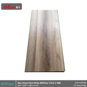 Sàn nhựa MSFloor C506 hình 1