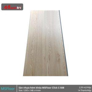 Sàn nhựa MSFloor C508 hình 1