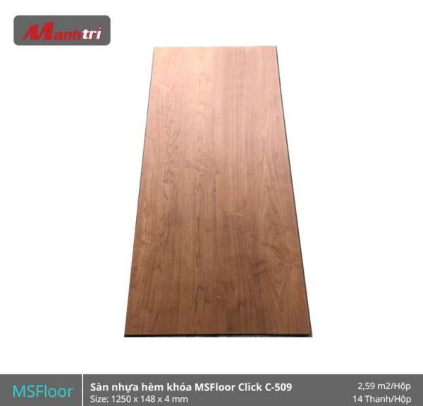 Sàn nhựa MSFloor C509 hình 1