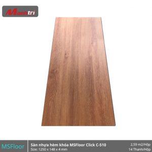 Sàn nhựa MSFloor C510 hình 1