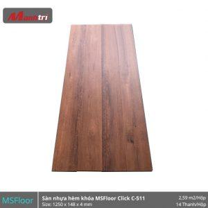 Sàn nhựa MSFloor C511 hình 1