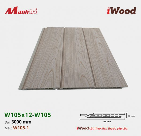 iWood W105x12-W105-1