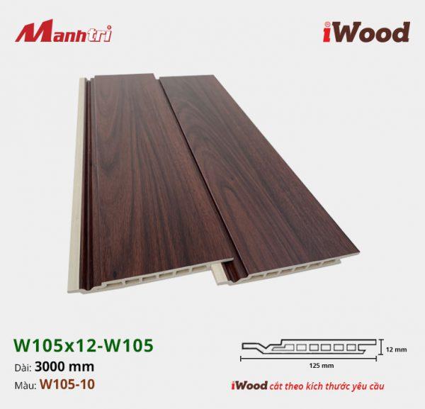 iWood W105x12-W105-10
