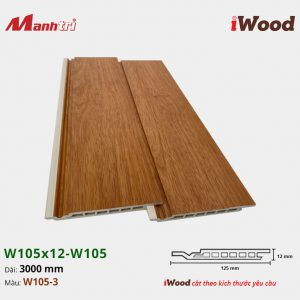 iWood W105x12-W105-3