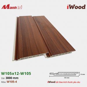 iWood W105x12-W105-4