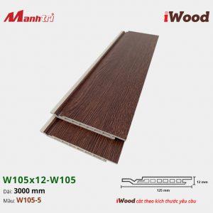 iWood W105x12-W105-5
