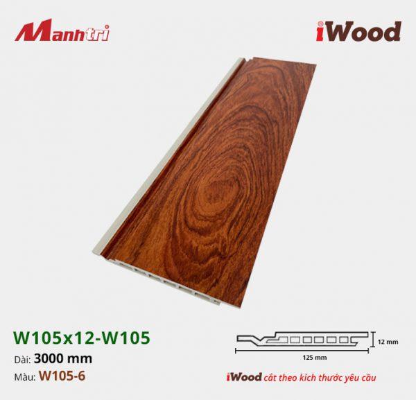 iWood W105x12-W105-6