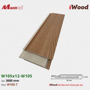 iWood W105x12-W105-7