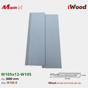 Tấm ốp iWood W105x12-W105-9