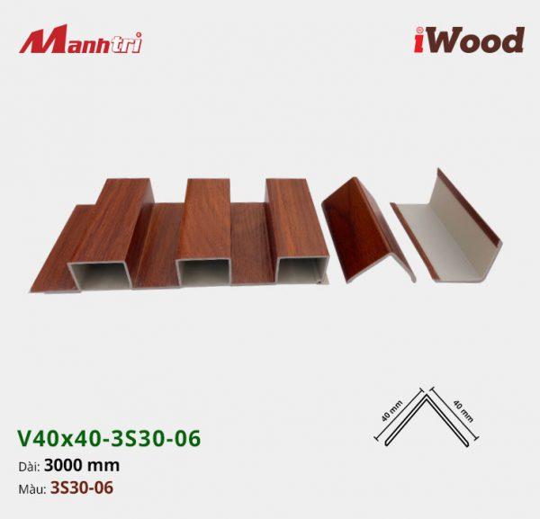 nẹp iWood V40x40-3S30-06 hình 2