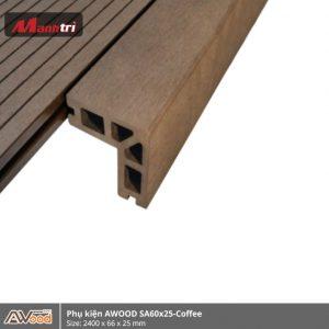 phụ kiện Awood SA60x25-Coffee