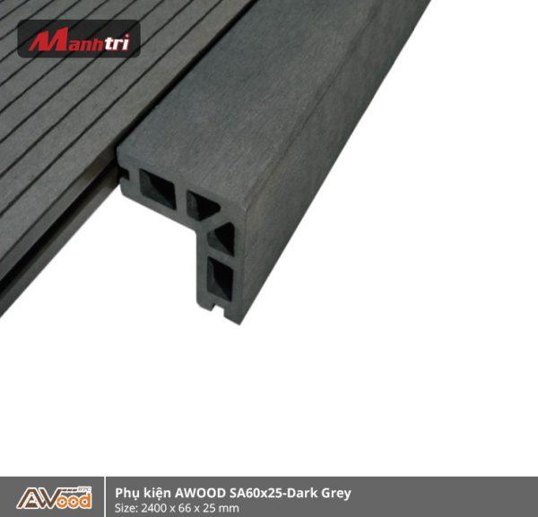 phụ kiện Awood SA60x25-Dark Grey