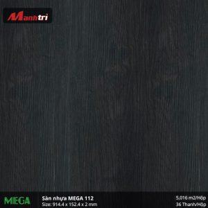 sàn nhựa Mega 2 mm 112