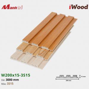 tấm ốp iwood w200-20-3s15 hình 1