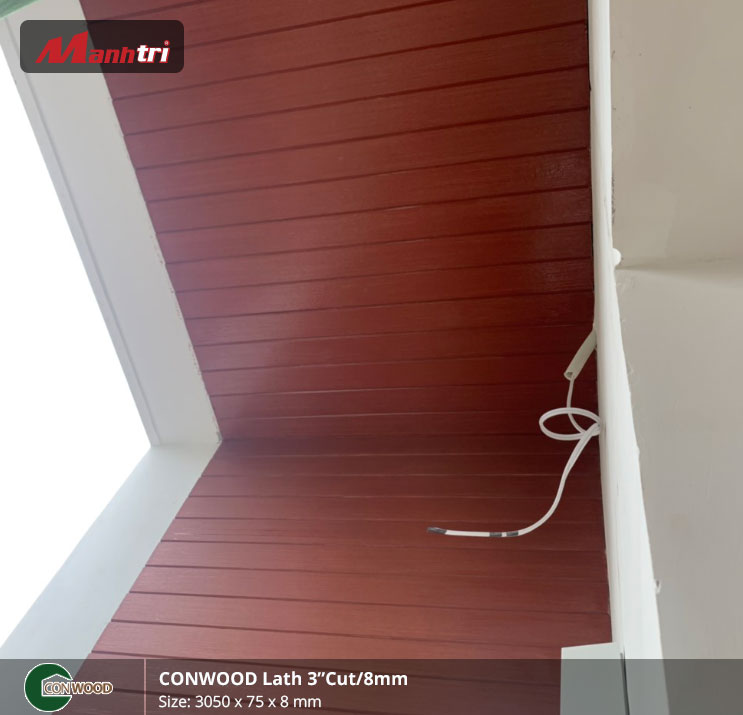 "conwood Lath 3""cut/8mm hình 8"
