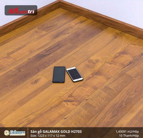 sàn gỗ Galamax Gold H2703