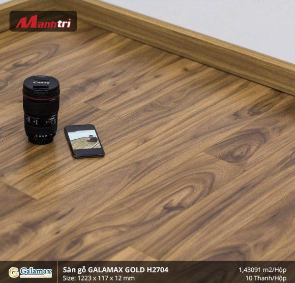 sàn gỗ Galamax Gold H2704