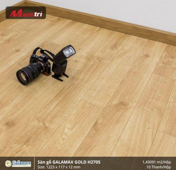 sàn gỗ Galamax Gold H2705