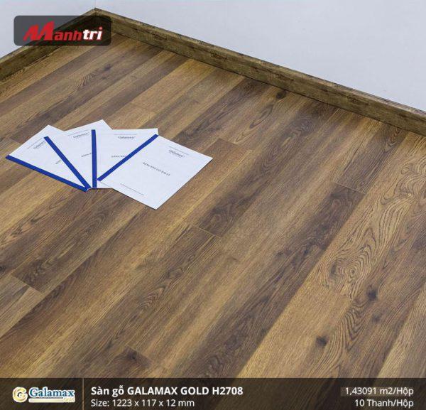 sàn gỗ Galamax Gold H2708