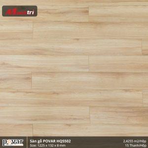 sàn gỗ Povar HQ5502 hình 1
