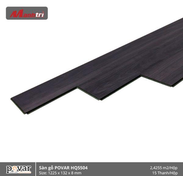 sàn gỗ Povar HQ5504 hình 2