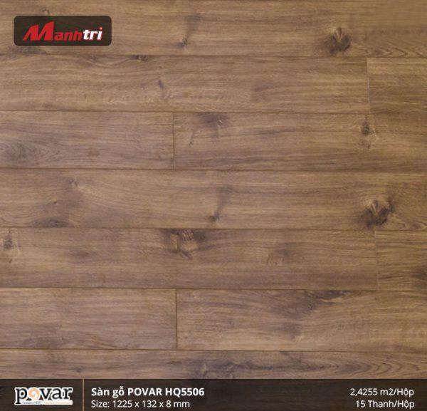 sàn gỗ Povar HQ5506 hình 1