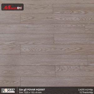sàn gỗ Povar HQ5507 hình 1