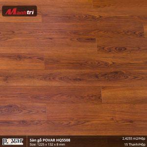 sàn gỗ Povar HQ5508 hình 1