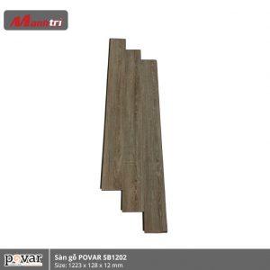 sàn gỗ Povar SB1202