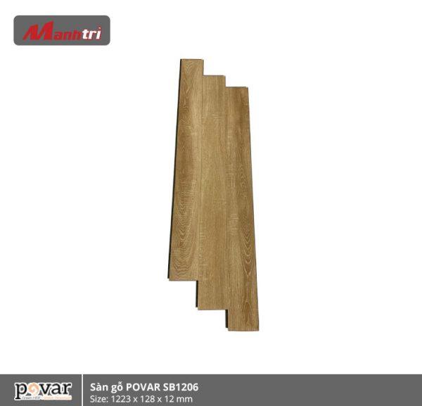 sàn gỗ Povar SB1206