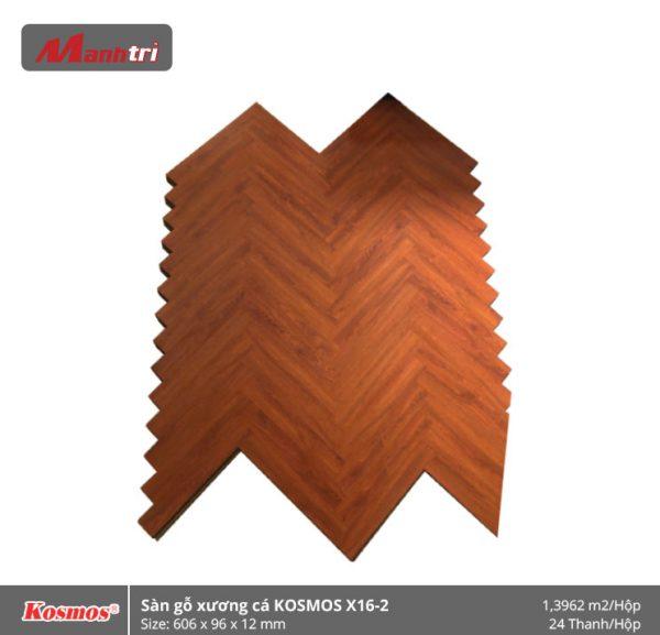 sàn gỗ xương cá Kosmos X16-2