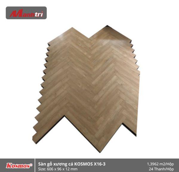 sàn gỗ xương cá Kosmos X16-3
