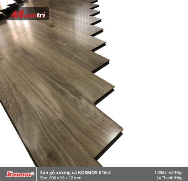 sàn gỗ xương cá Kosmos X16-4