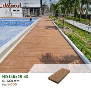 Thi công gỗ nhựa iWood