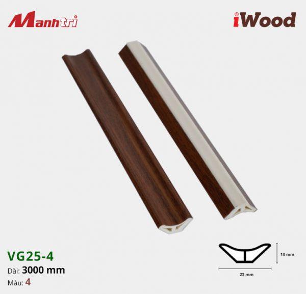 iWood nẹp VG25-4