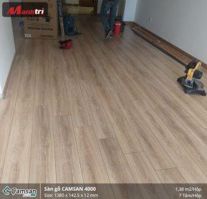 Thi công sàn gỗ công nghiệp Camsan tại Landmark81