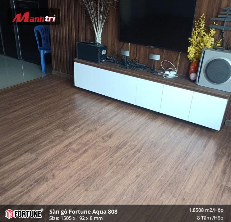 Sàn gỗ công nghiệp Fortune 808