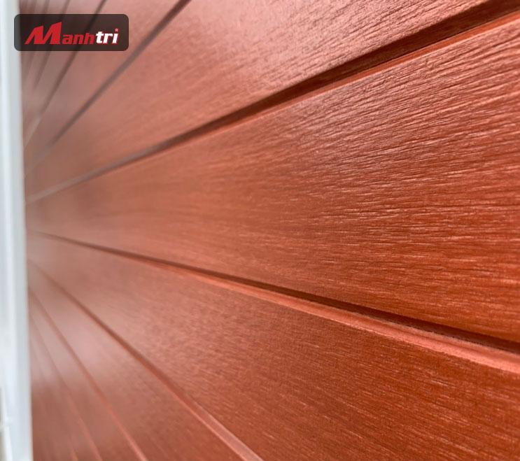 Xi măng giả gỗ vật liệu ngoài trời