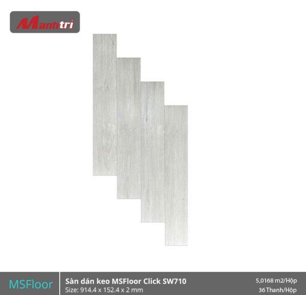 Sàn Nhựa MSFloor Click SW710