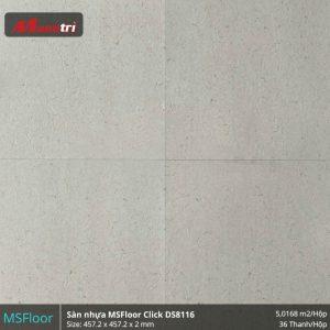 sàn nhựa MSFloor DS8116 hình 1