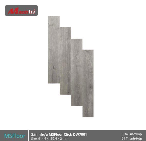 sàn nhựa MSFloor DW7001 hình 1