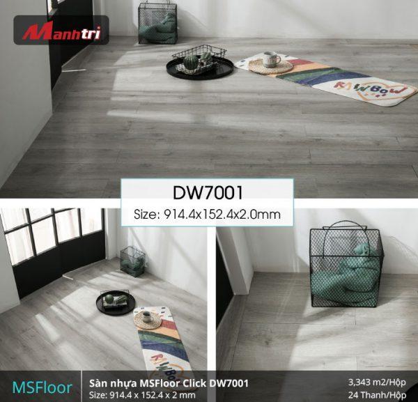 sàn nhựa MSFloor DW7001 hình 2