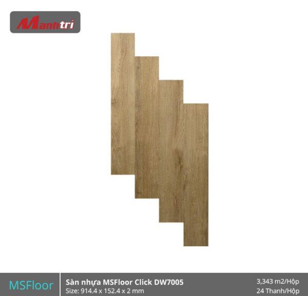 sàn nhựa MSFloor DW7005 hình 1