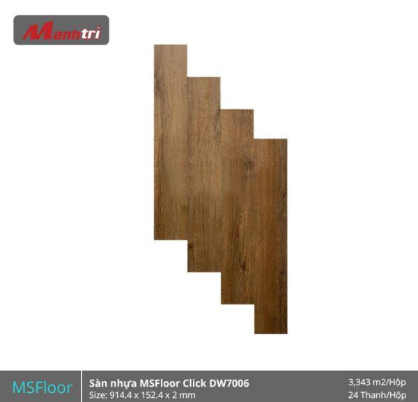 sàn nhựa MSFloor DW7006 hình 1