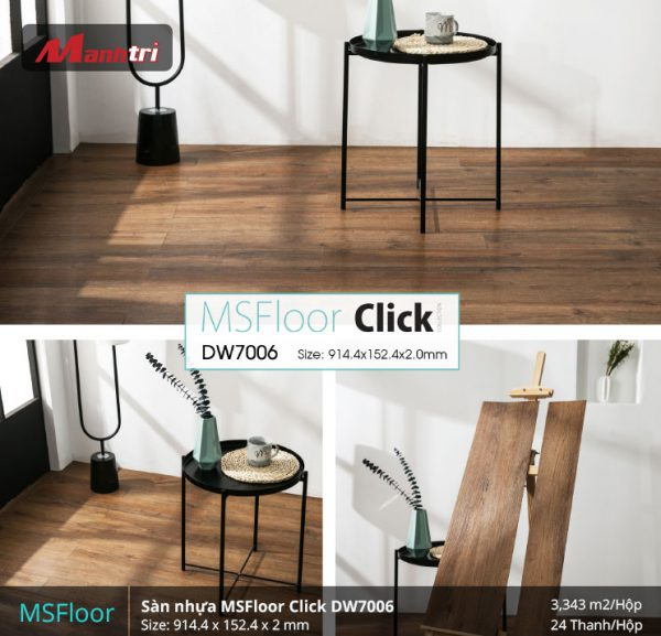 sàn nhựa MSFloor DW7006 hình 2