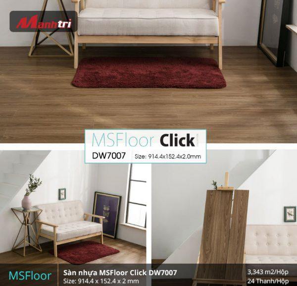 sàn nhựa MSFloor DW7007 hình 2