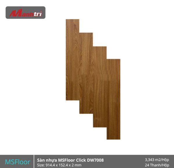 sàn nhựa MSFloor DW7008 hình 1