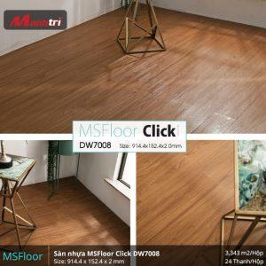 sàn nhựa MSFloor DW7008 hình 2