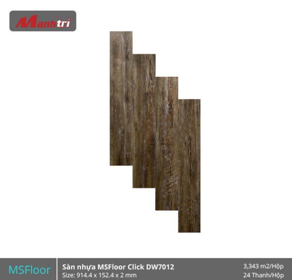 sàn nhựa MSFloor DW7012 hình 1