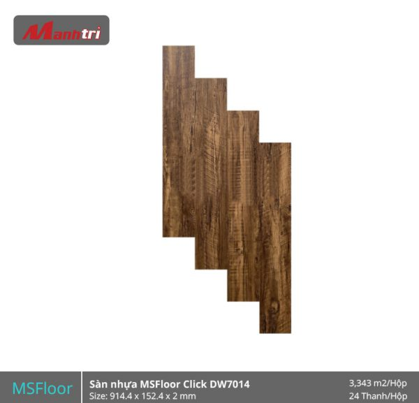 Sàn Nhựa MSFoor Click DW7014